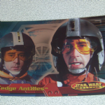 Star Wars Evolution topps 2001 Wedge Antilles Foil card